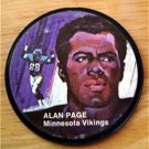 "1971 Mattel Instant Replay Record 2 1/2"" Football Alan Page Minnesota Vikings"