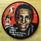 1971 Mattel Instant Replay Record 21/2 Basketball Willis Reed New York Knicks VG