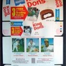 Complete 1975 Hostess King Dons Box with mint Robin Yount Rookie Card RARE
