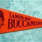 "Vintage 1970s NFL Football Mini Pennant 12"" Tampa Bay Buccaneers"