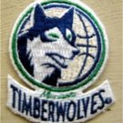 "Minnesota Timberwolves NBA Basketball Logo Die Cut Cloth Patch 2 1/2"""
