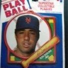 1990 NY Mets Baseball Play Ball Plaque Ron Darling