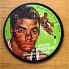 "1971 Mattel Instant Replay Record 2 1/2"" Basketball Oscar Robertson Milw Bucks"