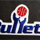 Washington Bullets Basketball NBA Cloth Patch 6""