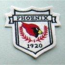 "Arizona Cardinals NFL Football 3"" Cloth Crest Shield Patch"