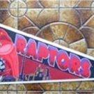 Toronto Raptors NBA Basketball Pennant Wincraft with Cardboard Hanger