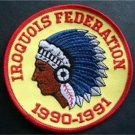 "Iroquois Federation 1990-1991 Boy Scout BSA Patch 4"""