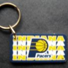 Indiana Pacers NBA Basketball Plastic Key Chain Tag Express 2 1/4""