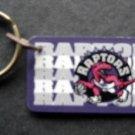 "Toronto Raptors NBA Basketball Plastic Key Chain Tag Express 2 1/4"""