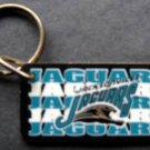 "Jacksonville Jaguars NFL Footbal Plastic Key Chain 1994 Tag Express 2 1/4"""
