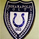 "Indianapolis Colts Cloth Football Jacket Patch 4 3/4"" Crest"