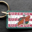 Seattle Super Sonics NBA Basketball Plastic Key Chain Tag Express 2 1/4""