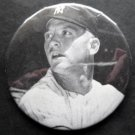 Mickey Mantle New York Yankees Black and White Photo Pin 3""