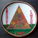"1990 Iroquois Campout Boy Scout BSA Patch  3 1/2"" Round"