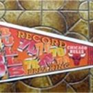 Chicago Bulls NBA Basketball Pennant 1995-96 Season Record Breaking 70 Wins