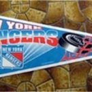 New York Rangers NHL Hockey Pennant Tag Express USA MOC