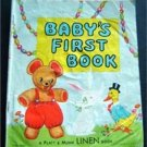 Baby's First Book Linen 1959 Platt & Munk