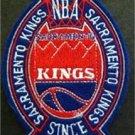 "Sacramento Kings Basketball Cloth Crest Shield Patch 4"""