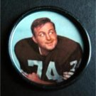 1962 Salada Junket Football Coin #57 Mike McCormack Cleveland Browns