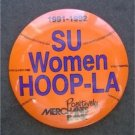 Syracuse University Women Hoop-La Basketball Pin Button