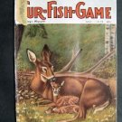 MAY 1975 FUR-FISH-GAME Deer w/ fawns Cover Strelewicz Fish Hunt Outdoors Sport