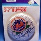 "Vintage New York Mets Baseball PIN  MOC 3 1/2"""