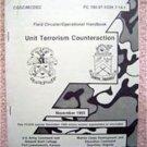 Unit Terrorism Counteraction Handbook Army Marines 1985