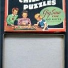 Vintage 1940s 2 Perfect Childrens Jigsaw Puzzles # 41 Set # 1 BOX ONLY