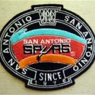 San Antonio Spurs Basketball NBA Cloth Oval Patch 4 3/4""