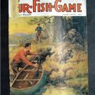 JUNE 1975 FUR-FISH-GAME Bear w/ Cubs Cover by W Goodwin Fish Hunt Outdoors Sport