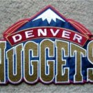 "Denver Nuggets NBA Basketball Logo Patch Die Cut 7 1/2"""