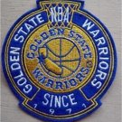 Golden State Warriors Basketball Cloth Crest Shield Patch 4 1/2""