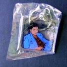 Michael Jackson Blue Key Chain Key Ring Mint in Pkg