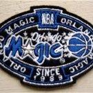 "Orlando Magic Basketball NBA Cloth Oval Patch 3 1/4"""