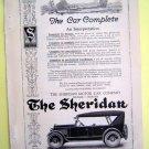 1930s Sheridan Car Magazine Tear Sheet Advertise Ad
