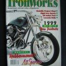 Iron Works Magazine Dec 1998 Harley Motorcycle