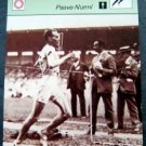 1977-1979 Sportscaster Card Track and Field Paavo Nurmi 15-03
