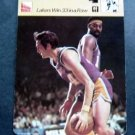 1977-1979 Sportscaster Card Basketball Lakers Win 33 in a Row 13-10
