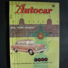 May 2 1958 Autocar Magazine Ford De-luxe Race Car Shows