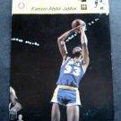 1977-1979 Sportscaster Card Basketball Kareem Abdul-Jabbar 02-03 Japan