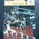 1977-1979 Sportscaster Card Basketball Referee's Signals 05-10