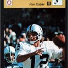 1977-1979 Sportscaster Card Football Ken Stabler Oakland Raiders 17-15