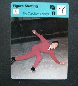 1977-1979 Sportscaster Card Figure Skating The Top Men Skating 13-23