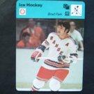 1977-1979 Sportscaster Card Ice Hockey Brad Park NY Rangers 07-17
