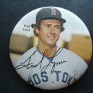 """1970's Boston Red Sox Pin FRED LYNN  3"""" with Facsimilie Autograph #222"""