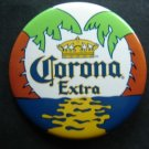 "Corona Extra Beer Advertising Pin 2 1/2"" in Diameter"