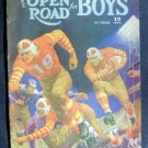 OCT 1939 OPEN ROAD FOR BOYS MAG FOOTBALL SPORTS ADVENTU