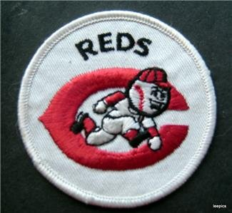 "Cincinnati Reds Baseball Cloth Patch 3"" Round"