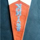 "New York Knicks NBA Basketball Mini Pennant Wool Acryllic Felt 14 1/2"" x 6"""
