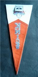 """New York Knicks NBA Basketball Mini Pennant Wool Acryllic Felt 14 1/2"""" x 6"""""""